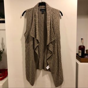Cynthia Rowley Cable Knit Vest